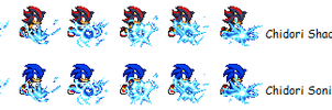 Sonic style chidori by MyPicts