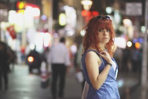a girl in the city -4- by cangurgel