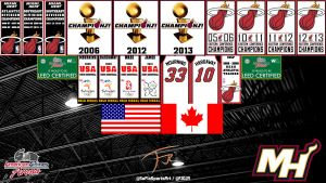 AmericanAirlines Arena Rafters by FJOJR