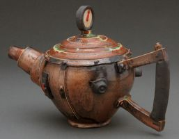 steampunk tea pot 2 by cl2007