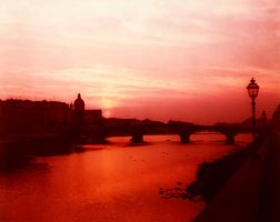Florence at Dawn by enricoagostoni