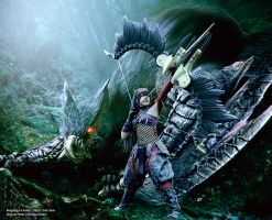 Monster Hunter Nargacuga X Cosplay by Evil-Siren by Evil-Siren