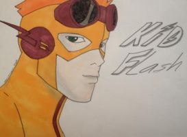 Kid Flash by Lightfire21