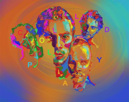 coldplay painting by nosoart
