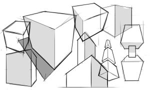 D28 - Perspective Cubes by ComplxDesign