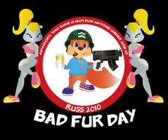 Bad Fur Day 2010 by LuckyMillionDesigns