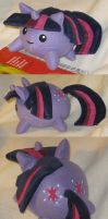 Twilight Sparkle blob plush by SmellenJR