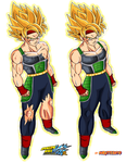 bardock ssj+armor damaged by Naruttebayo67