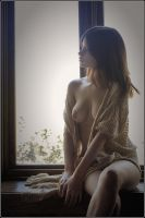 Sitting in the windowsile by ickylust