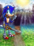 Sonic Boom  Storybook, Knight of the Wind by Violyd