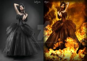 Before/After-- Welcome in hell by Shana-e