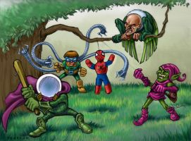 Mysterio's Birthday Party by jimmyemery