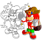 Knuckles' Search 4 Adventures by JamesmanTheRegenold