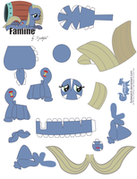 Famine Papercraft by FyreWytch