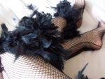 Fishnets And Feathers by angelwithoutwings