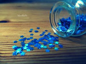 Blue stars. by MauiMelle