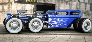 Custom Hot Rod by rOEN911