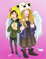 Liwen and Viv by CarriePotter