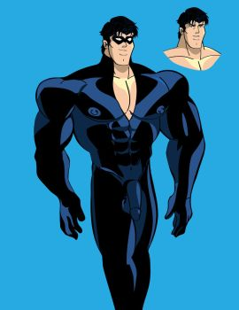New Character: Nightwing aka Dick Grayson by mchlsctt709