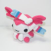 Sylveon by Heartstringcrochet