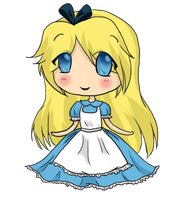 Alice Chibi by PuccaNoodles2009