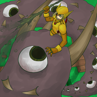 Terraria_Not Ready by StrifeLaughter