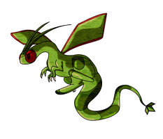 Flygon... by Blackwolfpaw