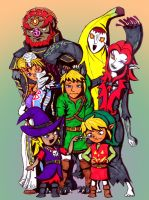 Happy Halloween -Zelda Style- by FiercerDeity