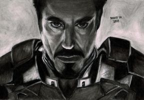 Tony Stark - Iron Man Sketch by brucebryanco
