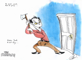 The  Shining by DemonCartoonist