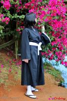 Rukia and the Spring flowers IV by SayuriChann