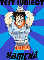 Test Subject Yamcha Cover. by Somdude424