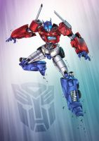 Optimus Prime by Patrick-Hennings