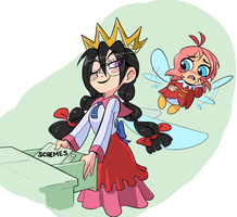 Kirby 64 Queen Fairy Request by G-3-n-o