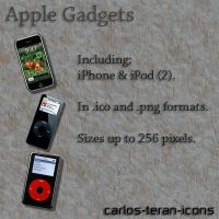 Apple Gadgets by carlos-teran-icons