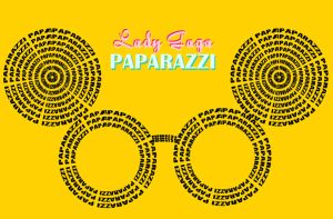 PAPARAZZI - Mickey Glasses - Lady GaGa - Typo by anoanoanoano