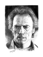 Clint eastwood . by RobertoBizama