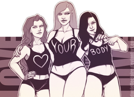 Love Your Body by danielleclaire