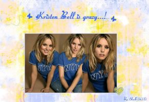 Wallpaper Kristen Bell by EluSkha