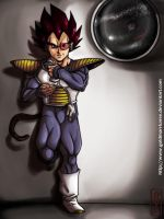 DBZ-Vegeta by Goldman-Karee
