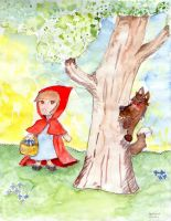 Little Red Riding Hood by Andrayah