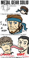 Metal Gear Solid Meme by syersHasFEETS