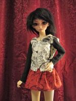 Shiela's New Skirt by Sarinilli
