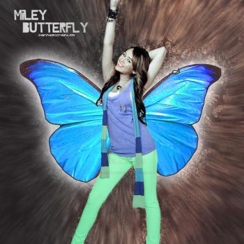 MileyButterfly. by iwannagocrazy