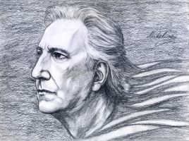 Alan Rickman by MadelineSlytherin