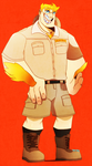 Keller the Zookeeper by Arfial