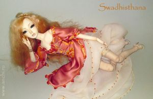 swadhisthana doll by Anchi
