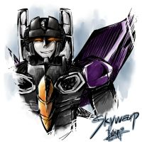 Transformers:Skywarp-Completed by Blip-NYA