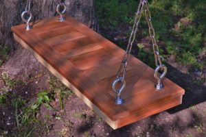 Cedar Tree Swing by Hearte42