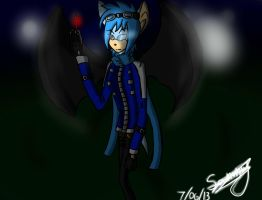 AT: Skylar in the night by Doggshort2